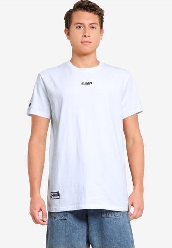 Superdry white Corporate Logo Tee - Sportstyle Code 0E7E4AAB474320GS_1