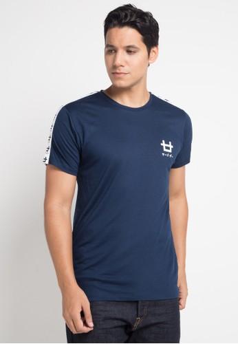 Third Day navy S/S Men Logo Cst List Logo Kappa Nv 5EFEFAA2056A1DGS_1