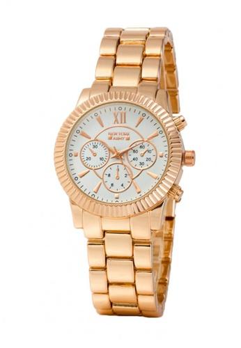 Greatvalueplus pink Newyork Army NYA178 Ladies Stainless Steel Watch GR688AC44IDVPH_1