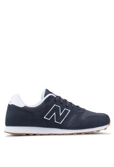 498fa847400b New Balance black 373 Lifestyle Shoes ADBCFSHA8025EBGS 1