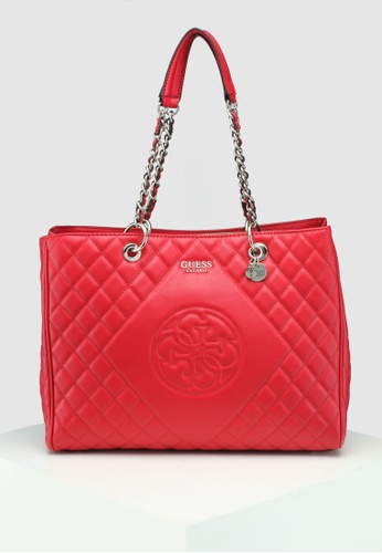 c466f469db Guess red Sweet Candy Large Carryall Bag 1659DAC0EEC065GS 1