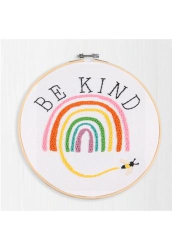 Klosh pink Embroidery Kit - Be Kind 93AA6HL41BA766GS_1