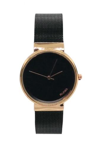 3a3f240429d96c Shop Chronomart Nafisa Women's Round Dial Mesh Chain Strap Wrist Watch  Online on ZALORA Philippines