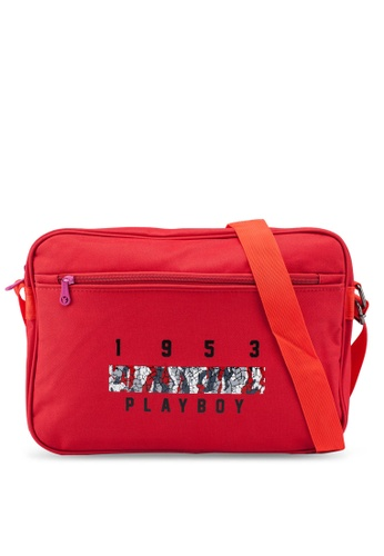 Playboy red Playboy Sling Bag EB34AACFE17369GS_1