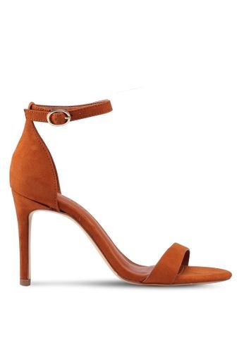 Mango brown Ankle-Cuff Sandals F42F5SH89443D3GS_1