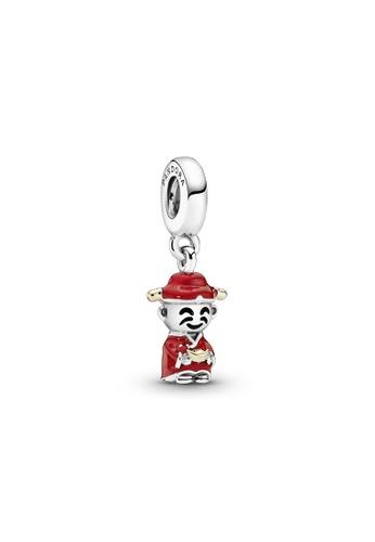 PANDORA silver Pandora Chinese God of Wealth Dangle Charm 1DC77ACABE6CFAGS_1