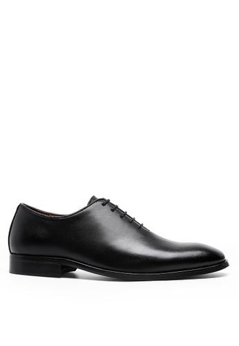 Twenty Eight Shoes 黑色 波本真皮牛津鞋DS662 DE69CSH3C735D9GS_1