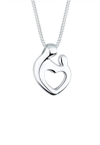 Elli Germany silver Perhiasan Wanita Perak Asli - Silver Kalung Mother and Child EFDFFAC64CACBFGS_1