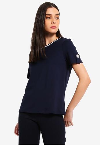 ESPRIT navy Short Sleeve T-Shirt DAB3BAA7843B78GS_1