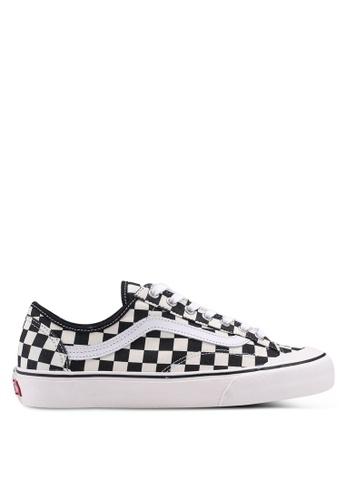 VANS black and white Style 36 Decon SF Checker Senakers VA142SH0SWTCMY_1
