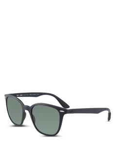 0b7add3721a Ray-Ban black Ray-Ban RB4297 Sunglasses EC8ACGL8A1E0B9GS 1