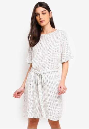 JACQUELINE DE YONG white Iggy 2/4 Dress 00B80AAF92E7ABGS_1