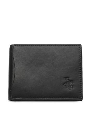 Swiss Polo black RFID Money Clip Wallet 8326EACD37B6D1GS_1