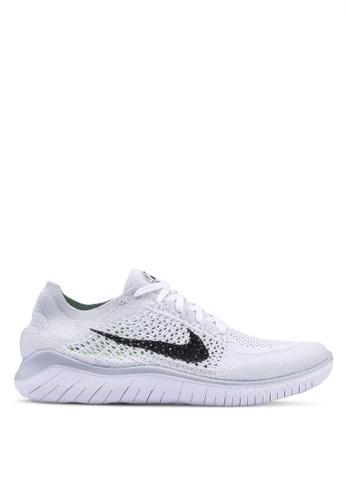 Nike white Nike Free Rn Flyknit 2018 Shoes B150CSH2DC4196GS_1