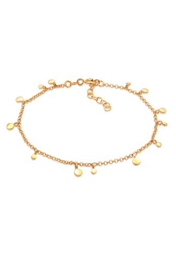 ELLI GERMANY gold Plat Coin Boho Gold Plated Bracelet 98DA3AC01AEE33GS_1