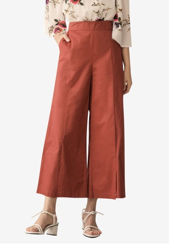 Tokichoi red Cut Out Culottes E0D99AAF486F30GS_1