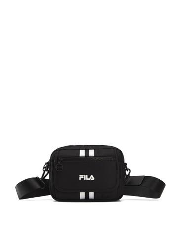 FILA black FUSION Unisex FILA Logo Crossbody Bag 947FCAC54EEF08GS_1