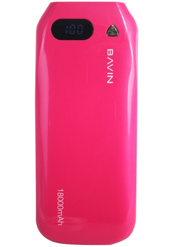 BAVIN pink 18000mAh Power Bank BA379AC23ISUPH_1
