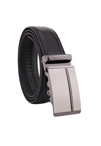 Twenty Eight Shoes black VANSA Fashion Leather Automatic Buckle Belt  VAM-Bt037 6B843AC42D6B10GS_1