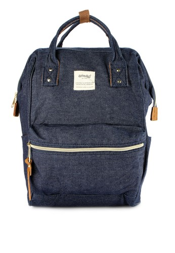 Anello navy Denim Backpack (Mini Size) AN804AC0WBWRID_1