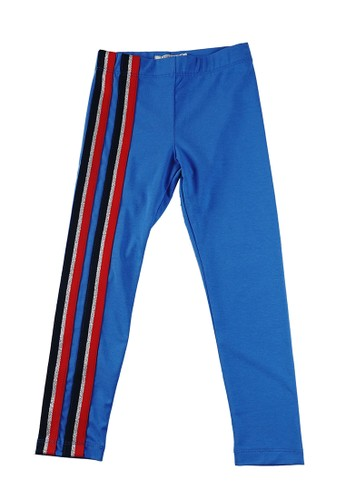 KIDS ICON blue IDS ICON - Legging Anak Perembuan CURLY with Twill Tape - LYC02900190 785D7KAA26285FGS_1