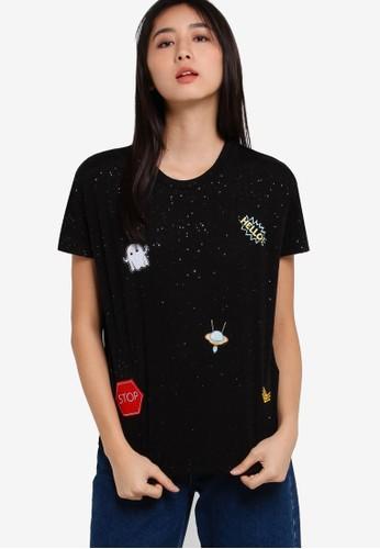 印花短袖上衣, 服esprit 台北飾, 服飾