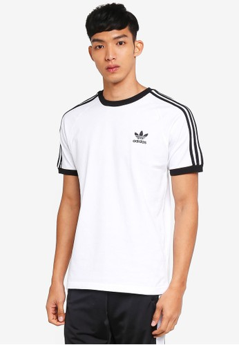 adidas white adidas originals 3-stripes tee 3F6C0AA9ECE77EGS_1