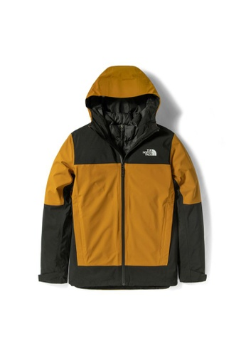The North Face yellow The North Face Men's Mountain Light Futurelight Triclimate Jacket 6904EAA1A633ADGS_1