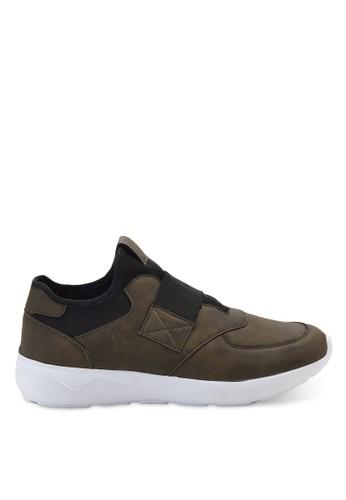 復古皮esprit品牌介绍穿入式繃帶鞋, 鞋, 懶人鞋