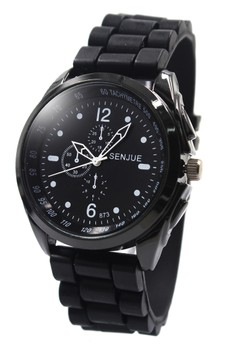 Senjue Jeth Rubber Strap Watch 873