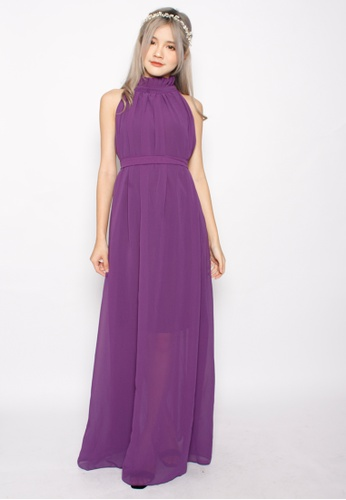Seoul in Love purple Yeong Jin Dress in Purple SE496AA19XIUSG_1