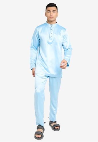 REALFANTASY blue BAJU MELAYU SHAH ISKANDAR 4A6B1AA52B7559GS_1