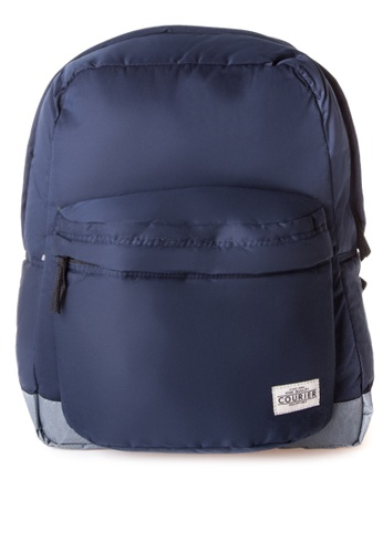 Courier blue Basic Backpack CO826AC58TIFPH_1