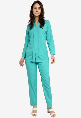 Marina Suit from SOPHIA RANIA in Green