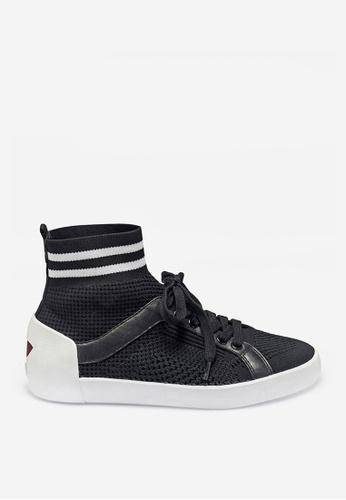 ASH 黑色 Ninja - 黑色網孔編織運動鞋 0DB0ASH3C23292GS_1