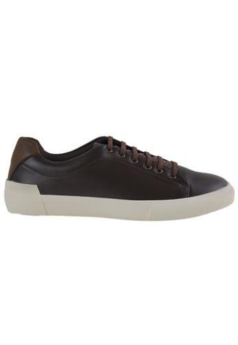 Tomaz brown Tomaz C305 Mens Sneakers (Coffee) 364AESHDDA1E03GS_1