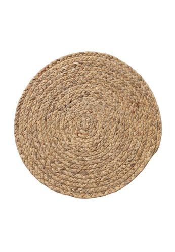 DILAS HOME 36cm Round Straw Coaster 70EA0HL7A7441DGS_1