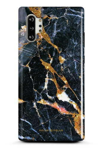 Polar Polar black Winter Forest Samsung Galaxy Note10 Plus Dual-Layer Protective Phone Case (Glossy) B4AB2ACBD07E30GS_1