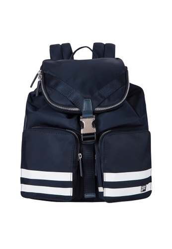 FILA navy Heritage Functional Backpack 039BEAC7935746GS_1