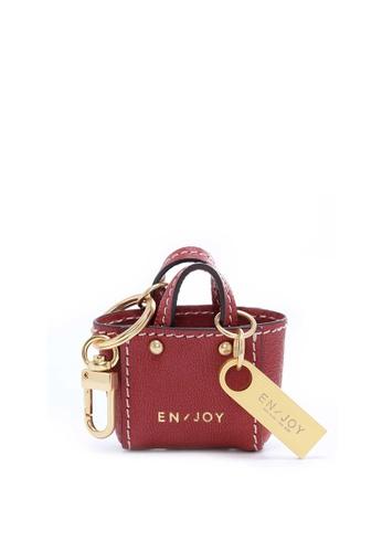Enjoybag red Zita's Micro USB Key Chain (Mini Bag Strap) EN763AC52PIDHK_1