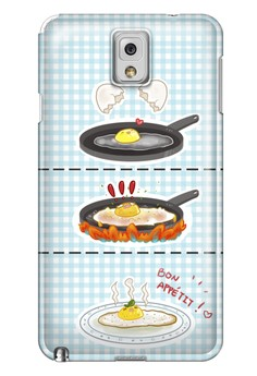 Sunny Side Up Matte Hard Case for Samsung Galaxy Note 3