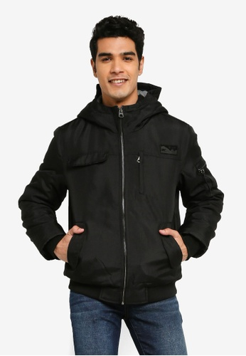 Only & Sons black Mountain Winter Jacket 02251AA6684388GS_1