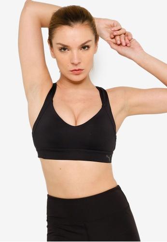 PUMA black Own It Mid Impact Women's Training Sports Bra 8C808US2F4ED89GS_1