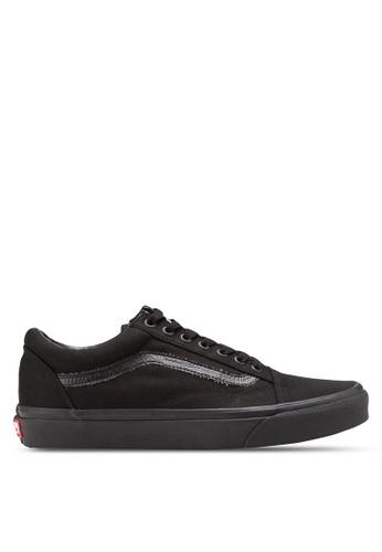 3ca07e41fad VANS black Core Classic Old Skool Sneakers VA142SH87XAYMY 1