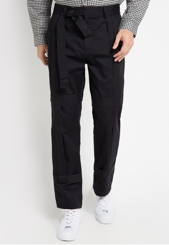 (X) S.M.L black Maximo Pants XS330AA0WE9BID_1