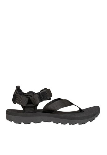 Eiger black Tomahawk Pinch Strap Black Sandal AE534SH9B780F3GS_1