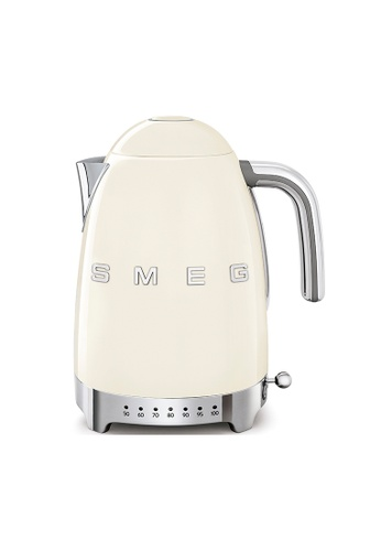 SMEG KLF04CRUK Variable Temperature Kettle, Cream 2BBCCHL4978300GS_1