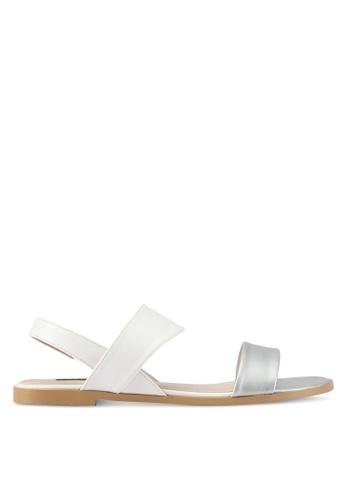 ZALORA white Sling Back Sandals 3D759SHA559D72GS_1