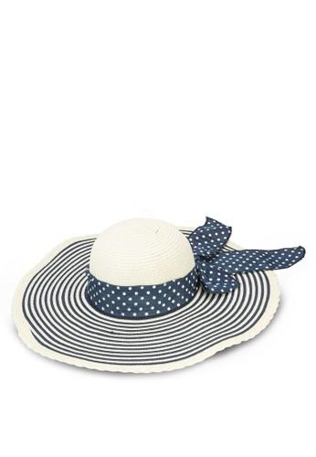 點點印花圓頂草帽, 飾品配esprit tw件, 飾品配件