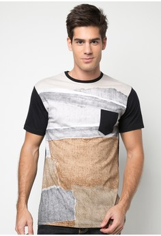 Bench Men's Printed Tee